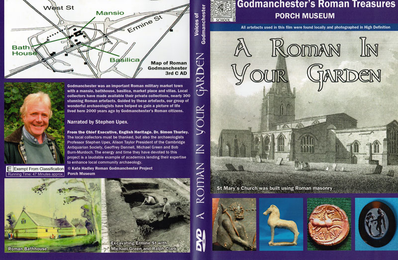 Roman in garden DVD cover