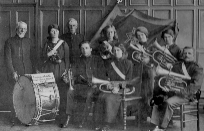 Salvation Army Band Photo - Godmanchester