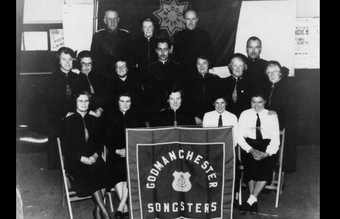 Salvation Army Band Photo Songsters c1956